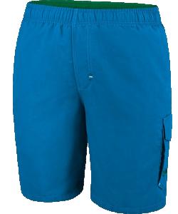 JAKO V6516J - Short Piscine Long Garçons Enfant Plusieurs Tailles Couleur Bleu Rivière et Vert Grenouille Fonctionnel Pour Natation