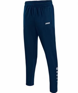 JAKO Striker 8415 - Pantalon Entraînement Allround Homme Enfant Poches Latérales Et Finition Jambes à Fermeture Éclair Bord Élastique Cordon de Serrage