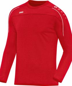 JAKO Classico 8850 - Sweater Homme Enfants Pull à Col Rond en Ripp Plusieurs Couleurs Tailles Bord de Finition Élastique aux Manches
