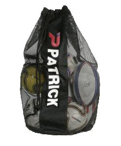 85c685cc124 PATRICK GIRONA021 - Basic Ball Sack in Black in Polyester Capacity 10  Ballons For Football Team