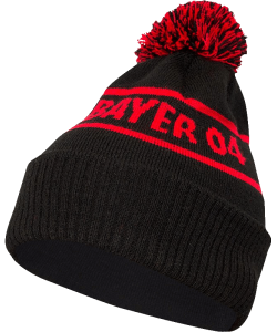 JAKO Bayer 04 Leverkusen BA1216 - Bonnet Coton Femme Homme Enfants Détails en Couleur Contrastante 2 Tailles Junior Senior