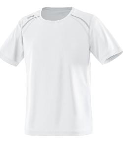 JAKO Run 6115M - T-Shirt Manches Courtes Homme Enfants Coutures Flatlock Plusieurs Couleurs Tailles Matériau Polyester-Mesh Respirant