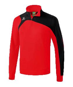 ERIMA 12607 Club 1900 2.0 - Sweat Entraînement Homme Enfants Manche et Bas avec Bords-Côtes Plusieurs Couleurs Tailles Textile Fonctionnel Résistant