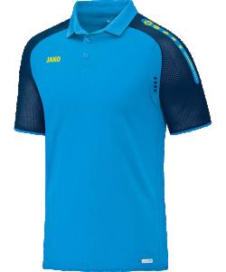 JAKO Champ 6317 - Polo T-Shirt Pour Homme Col à Fermeture Boutonnée Plusieurs Couleurs et Tailles Ouvertures de Ventilation