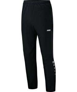 JAKO Champ 6517 - Pantalon de Loisir Homme Enfant Poches et Finition des jambes à fermeture éclair Bord Élastique Cordon de Serrage Bicolore