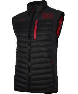 JAKO Bayer 04 Leverkusen BA7517 - Veste Softshell Hybride Noir Homme Plusieurs Tailles Poches Latérales Zippées Détails en Couleur Contrastante