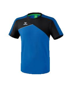 ERIMA 108180 Premium One 2.0 - T-Shirt Homme Enfants Respirant Pour Jours Chauds Col Arrondi Confortable Plusieurs Couleurs Tailles Grande Liberté de Mouvement