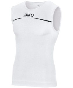 JAKO 6052 - Tank Top Comfort For Mens White or Black Several Sizes Comfortable Seamless Finish Keep Fresh Function