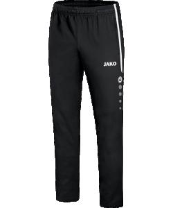 JAKO 6519 Striker 2.0 - Pantalon Loisir Hommes Enfants Plusieurs Couleurs Tailles Coupe Sportive Poches Latérales Zippées Bord Élastique avec Cordon de Serrage