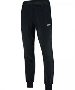 JAKO Classico 9250 - Pantalon Polyester Homme Enfant Poches Latérales Finition Jambe en Ripp à Fermeture Éclair Bord Élastique Cordon de Serrage