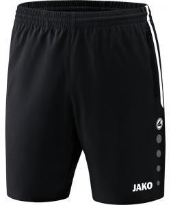 JAKO 6218 Competition 2.0 - Short Homme Enfants Plusieurs Couleurs Tailles Poches Latérales à Fermeture Éclair Bord Élastique à Cordon de Serrage