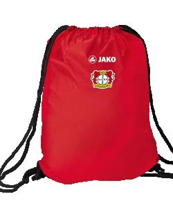 JAKO Bayer 04 Leverkusen BA1703 - Sac de Gym Homme Femme Enfants Plusieurs Couleurs Taille Standard Portée sur Épaules ou Comme Sac à dos