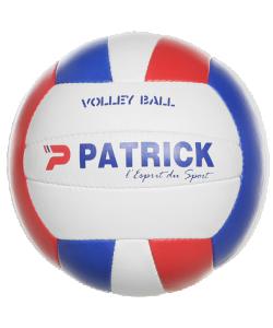 PATRICK VOLLEY801 - Ballon de Volley de Match Teijin Japan Très Bonne Qualité Pour Équipe Taille T5 Couleur Blanc/Bleu/Rouge