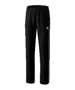 ERIMA 11007W Shooter 2.0 - Pantalon Présentation Femme Dames Plusieurs Couleurs Tailles Sportif Chic Confortable Poches Latérales à Fermeture Éclair Séchage Rapide
