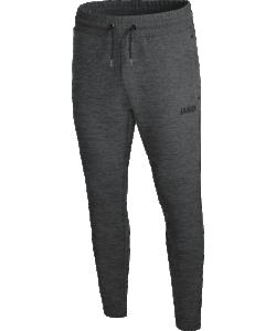 JAKO 8429M Premium Basics - Pantalon Jogging Hommes Coupe Sportive Plusieurs Couleurs Tailles Poches Latérales Zippées Effet Mélange Bord Élastique Avec Cordon Serrage