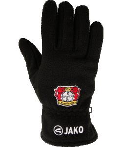 22b3f54534a JAKO Bayer 04 Leverkusen BA2587 - Fleece Gloves For Men Women Kids Color  Black Several Sizes