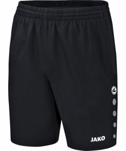 JAKO Champ 6217M - Short Homme Enfants Poches Latérales Différentes Couleurs Tailles Ceinture Intérieure Contrastante Cordon de Serrage Bicolore