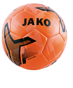 JAKO 2358 - Champ Winter Training Ball Hybrid Technology IMS-Certified Color Neon Orange Several Sizes Natural Rubber Bladder 32 Panels