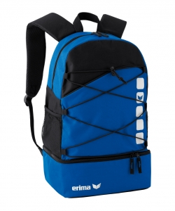 ERIMA 723 Club 5 Line - Multifunctional Backpack with Compartment Innovative Especially Practical Several Colors Standard Size Suitable For All Sports