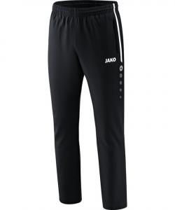 JAKO 6518 Competition 2.0 - Pantalon Loisir Homme Enfants Plusieurs Couleurs Tailles Poches Latérales à Fermeture Éclair Bord Élastique à Cordon de Serrage