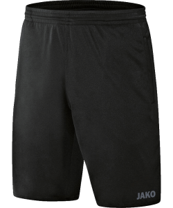 JAKO Referee 4471 - Shorts Adult Black Several Sizes Back Pocket with Velcro Closure Side Pockets Elastic Edge with Drawcord