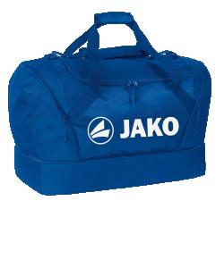JAKO 2089 - Sac de Sport Compartiment Principal Spacieux avec Fermeture Éclair à Double Sens Plusieurs Couleurs Tailles Bandoulière Amovible Réglable