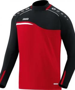 JAKO 8818 Competition 2.0 - Sweater Homme Enfants Plusieurs Couleurs Tailles Insertion Contrastante Col Rond et Manches