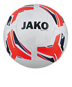 JAKO 2329 - Training Ball Match 2.0 IMS-Certified Hand Sewn Multiples Colors Sizes Modern Construction of 14 Panels Butyl Bladder