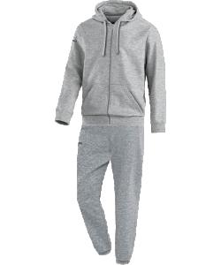 JAKO Team M9633 - Survêtement Jogging à Capuchon Homme Enfants Coutures Flatlock Plusieurs Couleurs Tailles Bord Élastique avec Cordon de Serrage