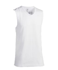PATRICK CADIZ110 - T-Shirt Sans Manches en Blanc Pour Homme Enfant Idéal Pour Sport ou Loisirs Plusieurs Tailles