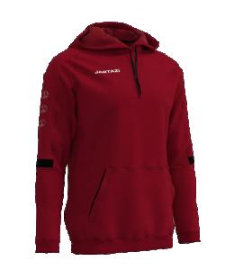 JARTAZI Roma 1212 - Pull Sweater à Capuche avec Cordon Serrage Homme Enfants Plusieurs Couleurs Tailles Molletonné Col Montant Zippé