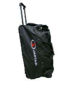 JARTAZI 8001 - Sac Équipe Voyage en Noir Fonctionnel Résistant avec Compartiment à Double Fond Idéal pour Rangements