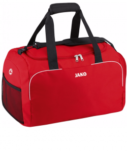 c1f7695ce47 JAKO Classico 1950 - Sports Bag Side Pockets Pouch with Zipper in the Main  Compartment Several