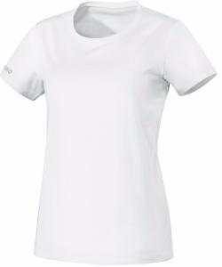 JAKO Team 6133W - T-Shirt Coton Femme Dames Col Rond Plusieurs Couleurs Tailles Confortable Pratique Idéal Pour Loisir