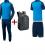 JAKO EO10017 - Pack Entraînement Champ - Survêtement - T-Shirt - Short - Sac à Dos - Homme Enfants Plusieurs Couleurs Tailles Étiquette Performance