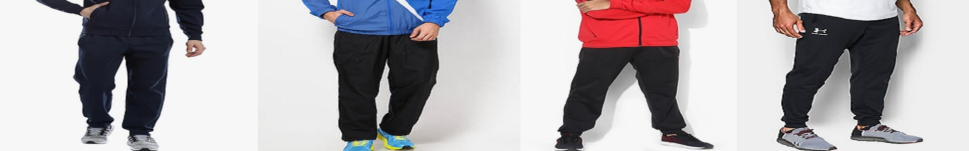 ExtraOffre Sport Banner Mens Clothing Tracksuit Bottoms Category