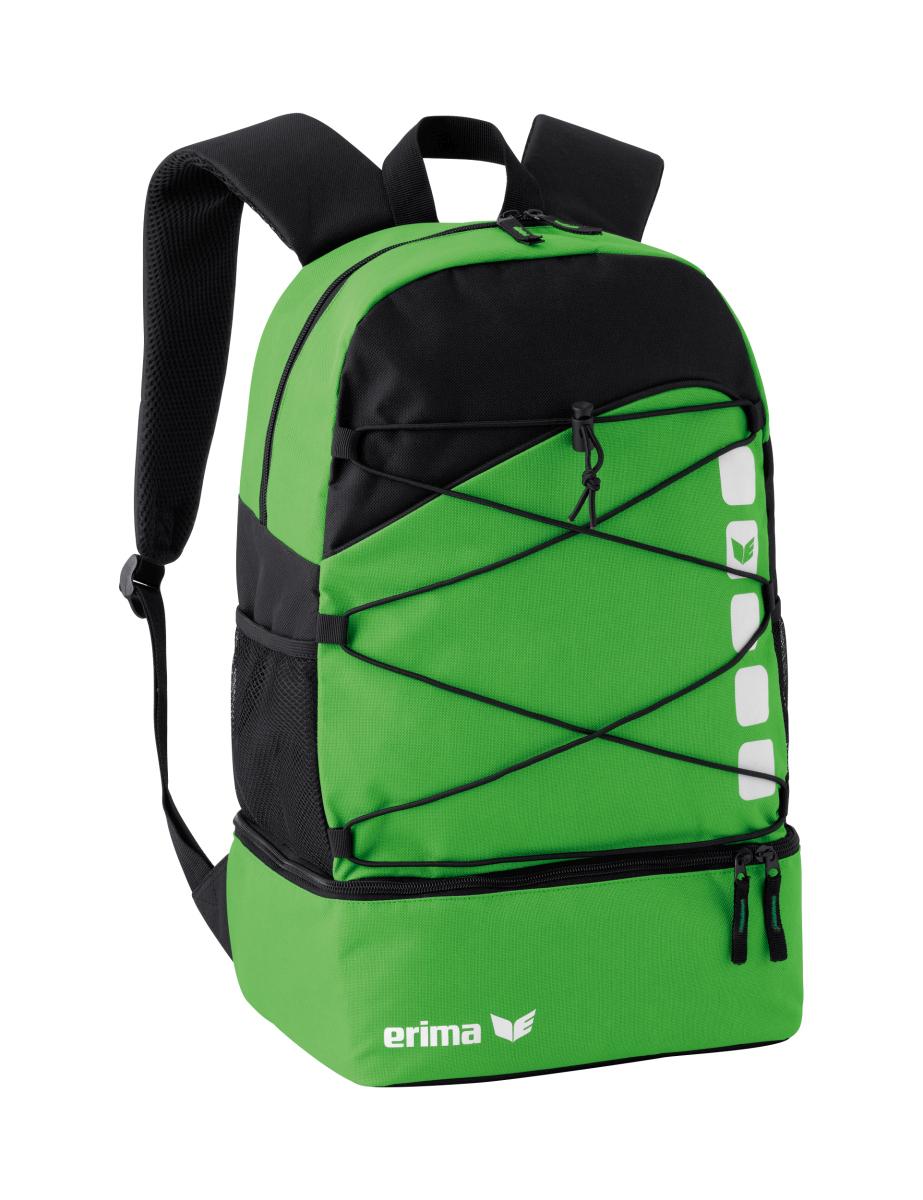 Red//Black Erima Multi-Functional Backpack