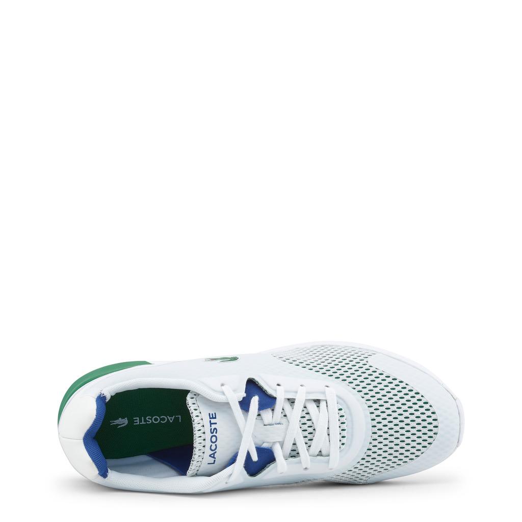 ... LACOSTE 734SPM0035-LTR-WHITE-GREEN-3 - Leisure Shoes White Green san ... 96b5a9c2f3